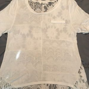 Tops - Super cute/flowery Shirt, size small