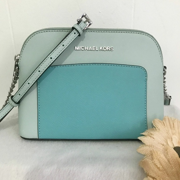 fe0cf139e250 •Michael Kors• Cindy Large Dome Crossbody Bag. M_59cec9d74e95a3aef6025f16