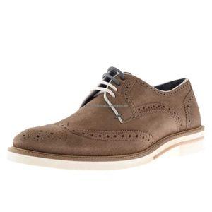 cd2b9fec0 Ted Baker Shoes - Ted Baker Archerr 2 Tan Suede Brogue Oxford Shoes