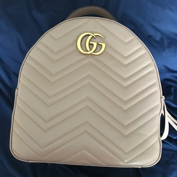 Gucci Handbags - Authentic Gucci Marmont Backpack d7deac698a88b