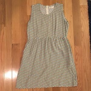 Patterned dress WITH POCKETS