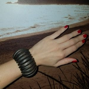 Wood Stretch Bangle