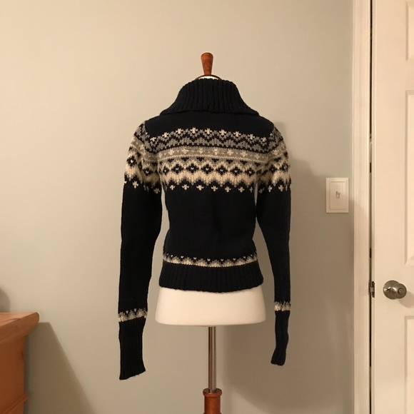 Abercrombie & Fitch - ABERCROMBIE FAIR ISLE SWEATER from Marnie's ...