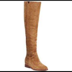 H/P ✨New Ash Jess Camel Suede Over The Knee Boots