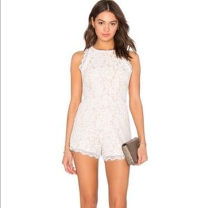 Endless Rose Lace Romper
