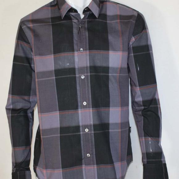 4f70080e2 New Hugo Boss Men's Ronnie Slim Fit Plaid Shirt L.  M_59ceee764e95a37e7b02e9d2