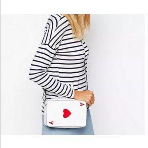 Handbags - Vegan leather poker card Crossbody bag NEW