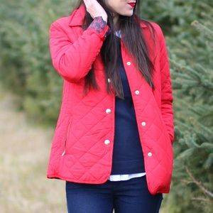 Crown & Ivy Quilted Barn Jacket