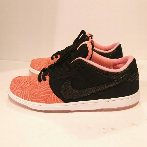 0a59ffa0eb66 Nike Dunk Low Premium SB 313170-603 Fish Ladder. M 59cef5814e8d17bcb8030163