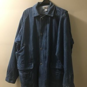 ⤵️Jeans jacket Big & Tall Lined