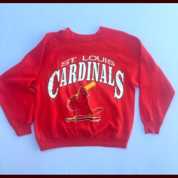 best service 1b87f d3cec Vintage Women's St. Louis Cardinals Sweatshirt
