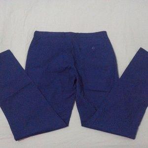 Mens New J. Crew Dress Pants 32x32 Navy Blue Cotto