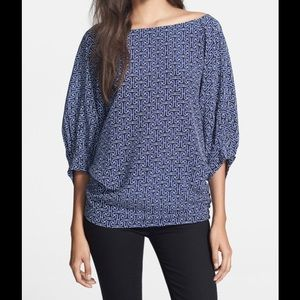 Trina Turk Two Way Silk Top