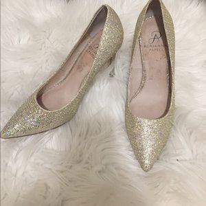"""Adrianna Papell """"cinderella"""" heels size 5.5"""