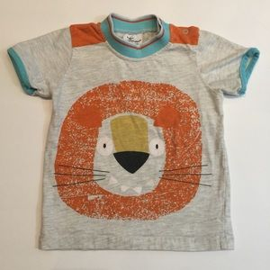 Boys Lion Short Sleeve T-Shirt 2T