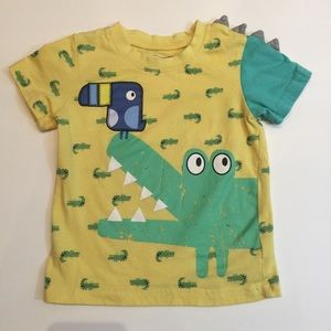 Boys crocodile/alligator Short Sleeve T-Shirt 24m