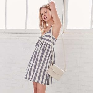 Urban Outfitters Tie Stripe Dress (coming soon)