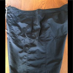 Land's' End Black Swim Shorts