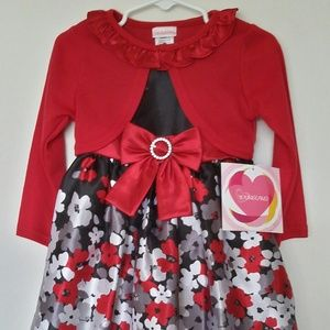 YOUNGLAND Two Piece Party Dress