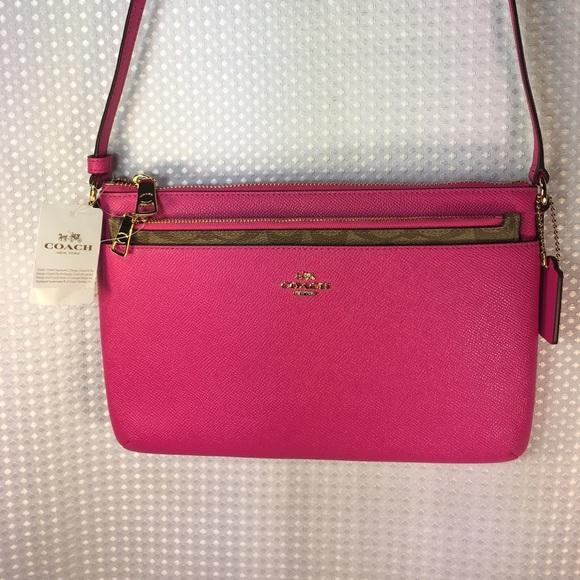 378a511171d5 🆕BRAND NEW Coach FUCHSIA purse SALE!🆕