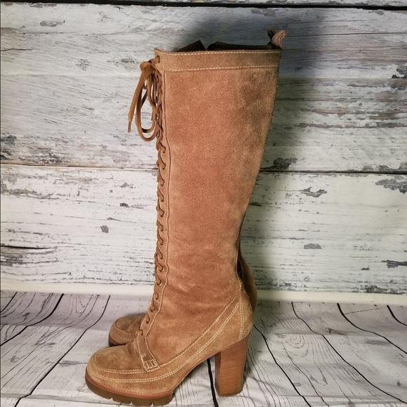 Shoes | Michael Kors Brown Suede Lace