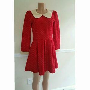 Darling Wool Baby Doll Dress