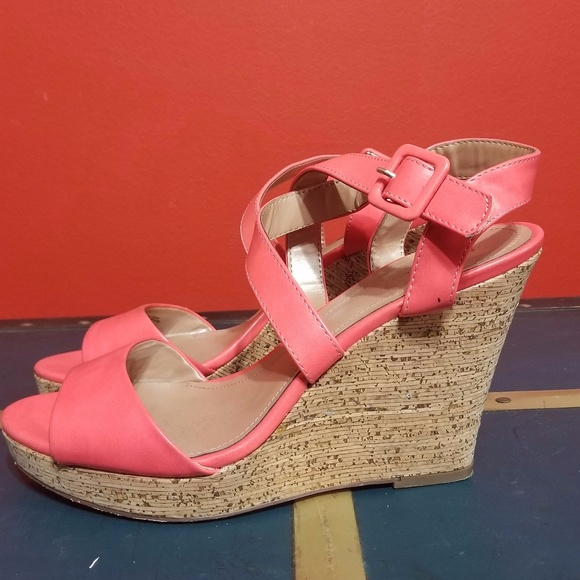 Style & Co Shoes - 🔥FINAL PRICE 🔥 Style & Co Coral Wedges