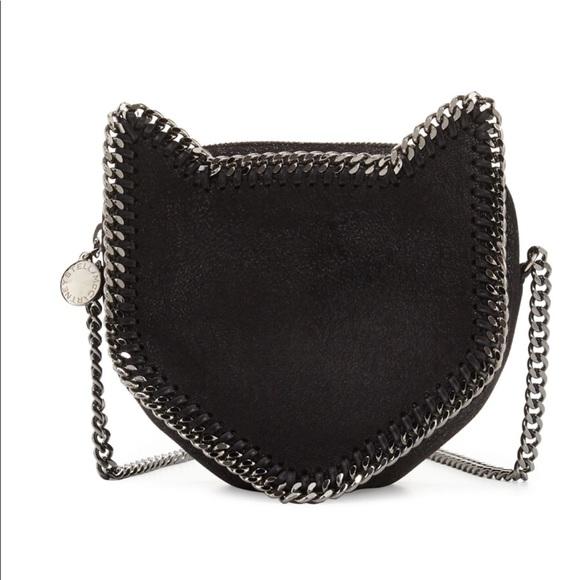 60ad6e517f Stella McCartney cat purse. M 59cf49bb291a359d4b0427d9