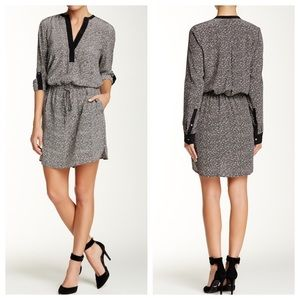 Vince Drawstring Shirt Dress