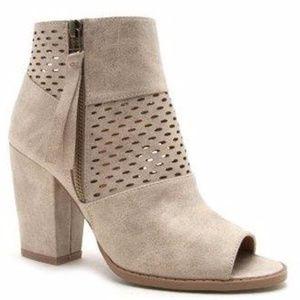 Shoes - ***Eliza Rene Peep Toe Booties***
