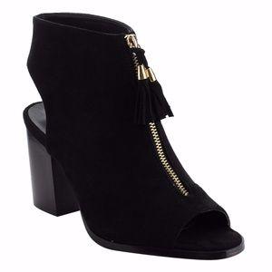 Shoes - Sophie Peep Toe Booties-ONE PAIR LEFT!!