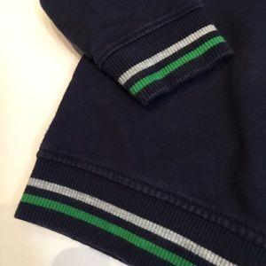 Shirts & Tops - Navy blue hooded sweatshirt 12-18m