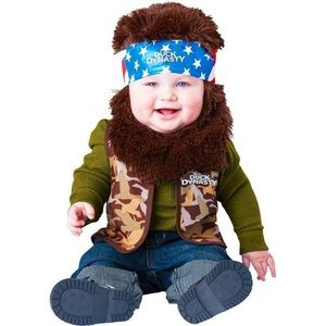 ⚡️HP⚡️ NEW Baby Duck Dynasty Willie Costume 18-24M