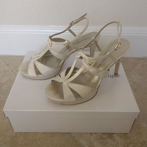 Adrianna Papell Boutique wedding shoes