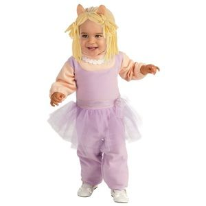 NEW Baby Muppets MISS PIGGY Costume- size 6-12mo.