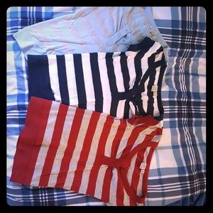 Tops - 3 striped shirts for 10 dollars
