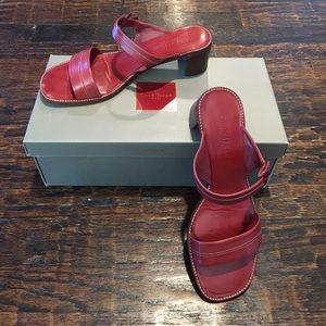 Cole Haan Brandie Red Sandals