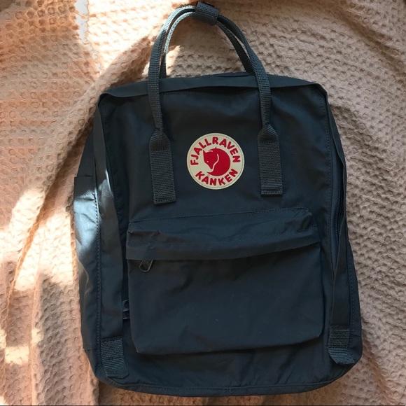 Sortendesign offizieller Shop Preis bleibt stabil Fjallraven Kanken Backpack - Graphite ✏️🍂