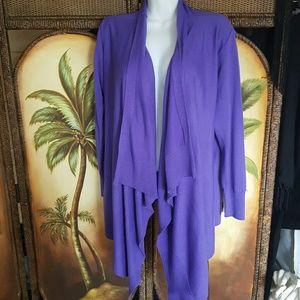 Jackets & Blazers - Purple jacket no flaws