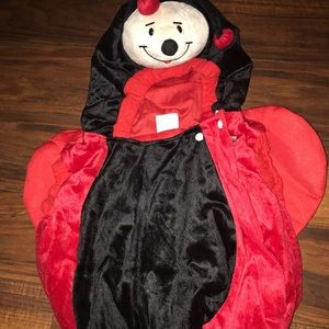 3/$10 Ladybug costume for toddlers