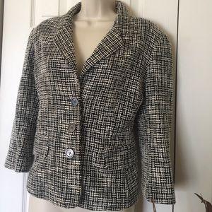 Michael Kors silk/cotton jacket