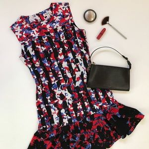 Peter Pilotto for Target Lined Floral Dress - XS