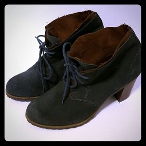 Ruff Hewn suede booties size 8.5