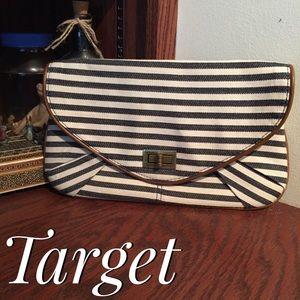 Target Striped Clutch