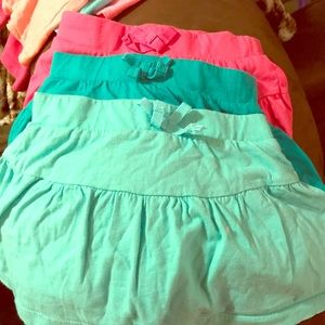 Girls Size 5/6 skorts  excellent condition