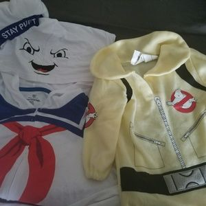 Halloween costumes matching Ghostbusters XL 2T