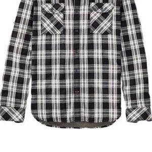 32654a1ba7f1 Timberland Shirts - TIMBERLAND MENS DOUBLE LAYER ROLL TAB PLAID SHIRT