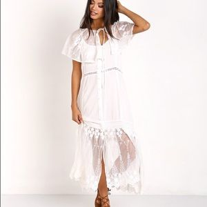 0da036839a5cc Somedays Lovin Dresses | Marlowe Midi Kimono Dress Off White | Poshmark