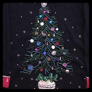 Vintage BP Design Christmas Tree Sweater