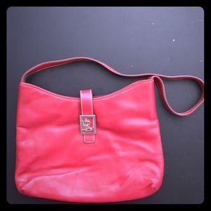 Lauren Ralph Lauren Red Bag